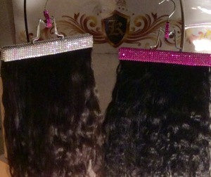 Get your one of a kind exclusive krysmari glam hair extensions 3 diamond diamond and fushcia pmusecretfo Gallery